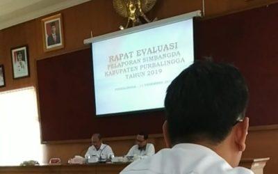 Rapat Evaluasi Pelaporan SIMBANGDA